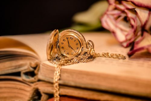 clock ladies pocket watch time