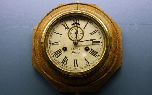 clock old antique
