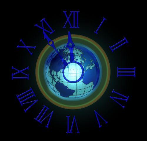 clock 5 vor 12 the eleventh hour