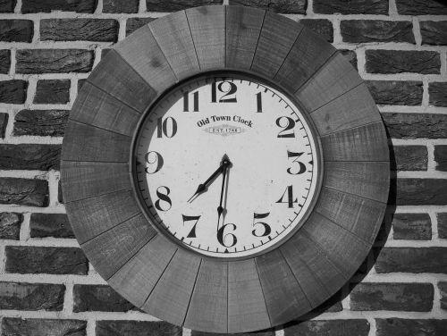 clock antique time of