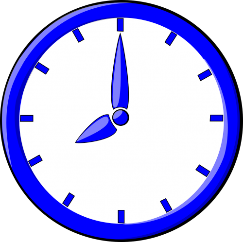clock time eight