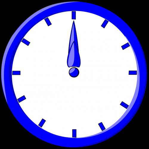 clock timer 12