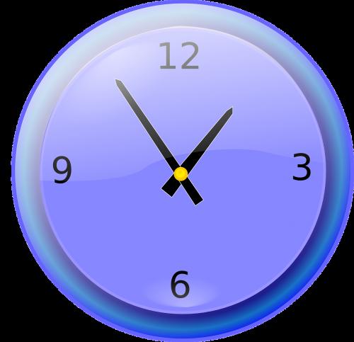 clock ticking analog