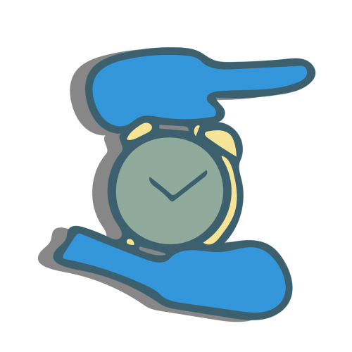 clock time hold