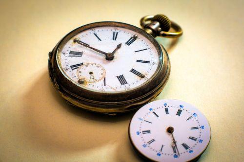 clock pocket watch clock face