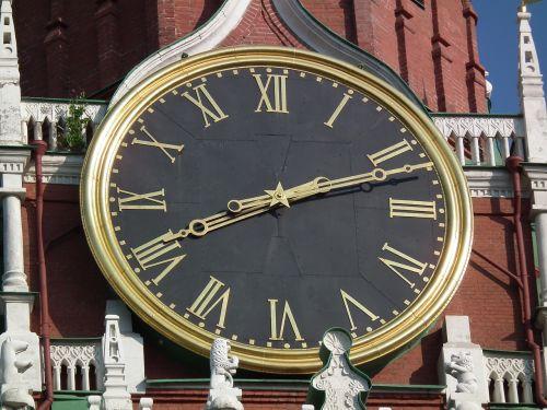 clock clock face kremlin
