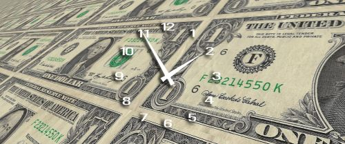 clock time time is money