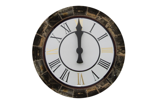 clock clock tower isolated