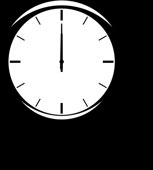 clock time twelve