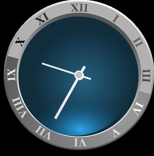 clock roman numerals time