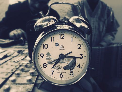 clock deadline wake up-morning
