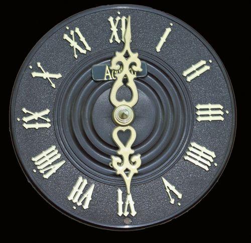 clock face dial