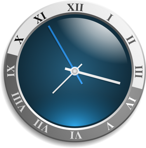 clock analog face