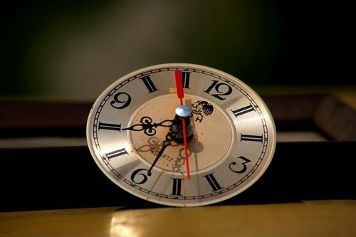 clock  wall clock  time