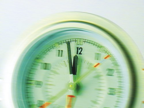 clock  the eleventh hour  time