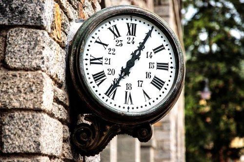 clock  railway station  wait