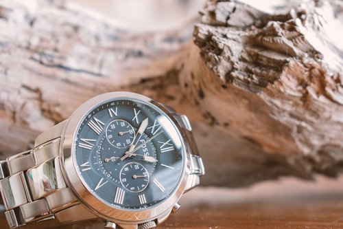 clock  fossil watch  watches