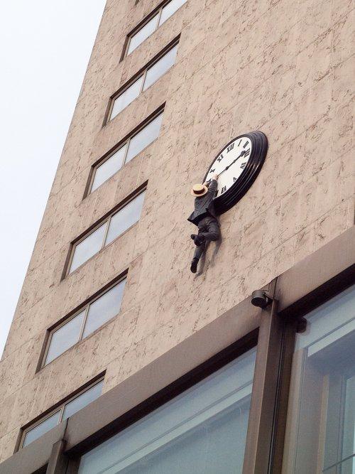 clock  man  depend
