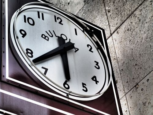 clock time minute