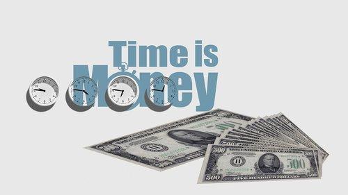 clock  time  money