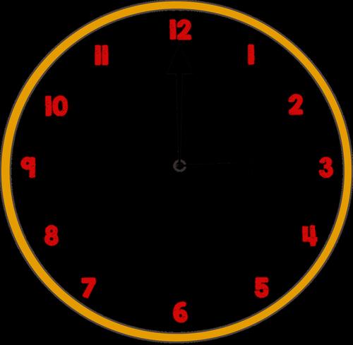 clock  time  organise