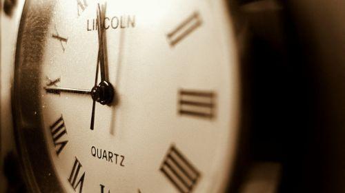 clock time minute