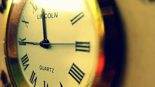 clock time second