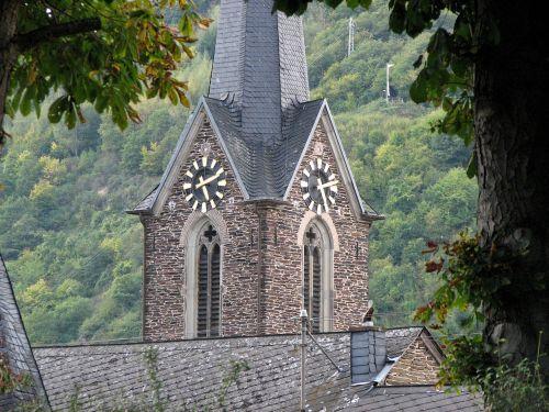 clock church clock time