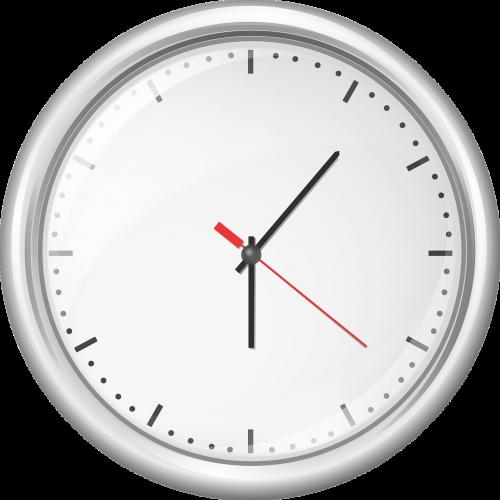 clock kuechenuhr time