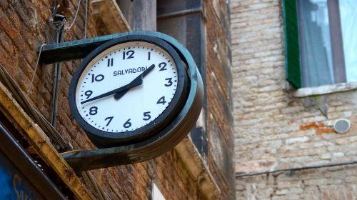 clock timepiece outdoors