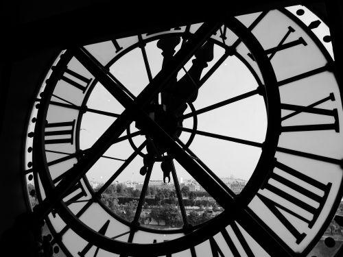 clock timepiece perspective