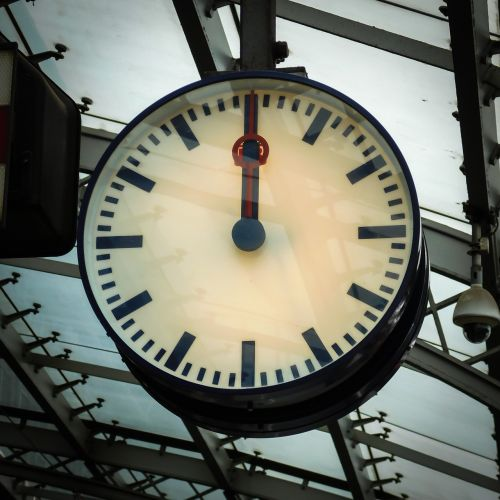 clock railway station station clock