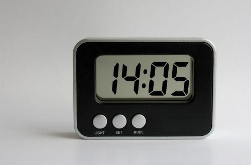 clock alarm clock brick