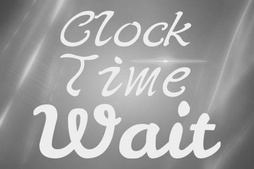 clock time wait