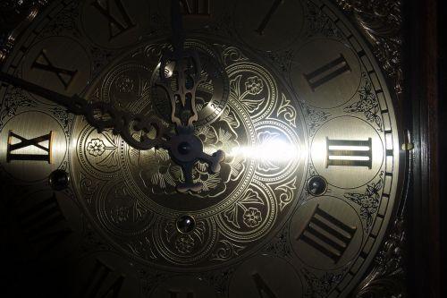 clock face grandfather clock
