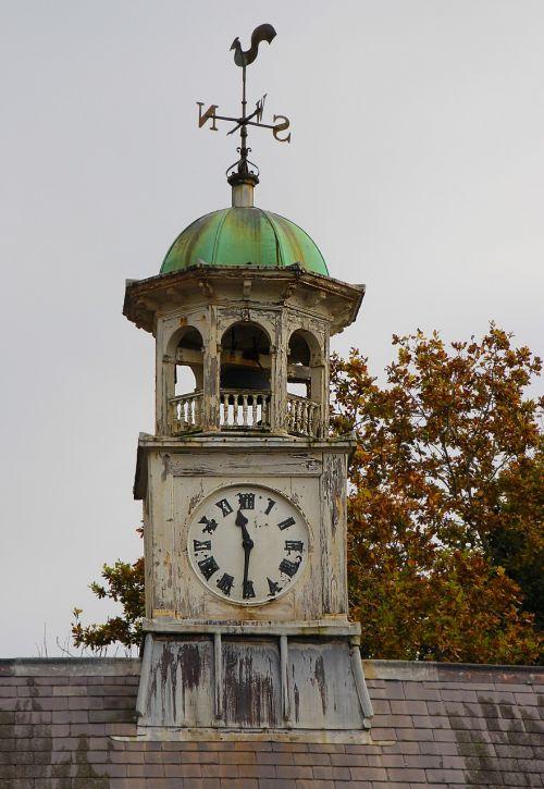 clock tower weather vane tower