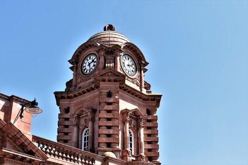 clock tower  train station  nottingham