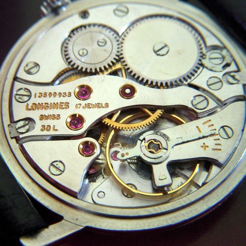 clockwork movement watch