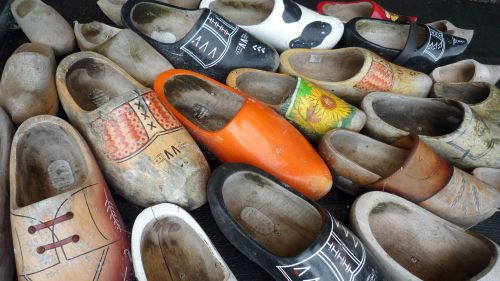 Clogs Or Wooden Shoes