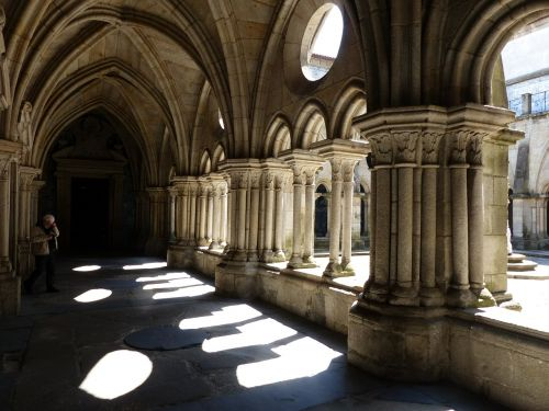 cloister cathedral back light