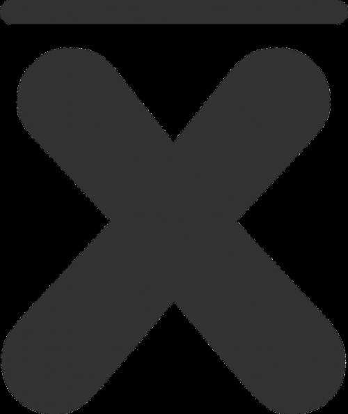 close cancel symbol