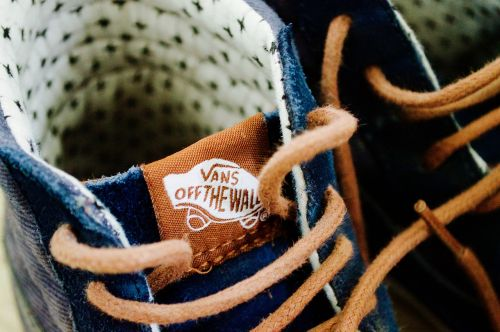 close-up footwear laces