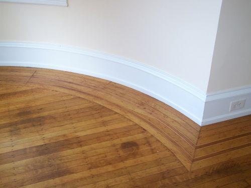 close-up wood flooring design floor