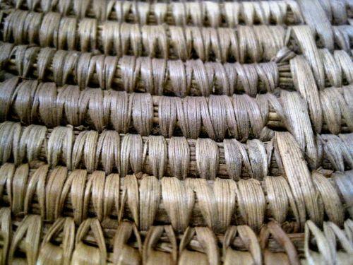 Close Up Of Basket Weave