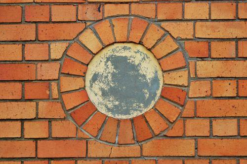 Close Up Of Brick Circle