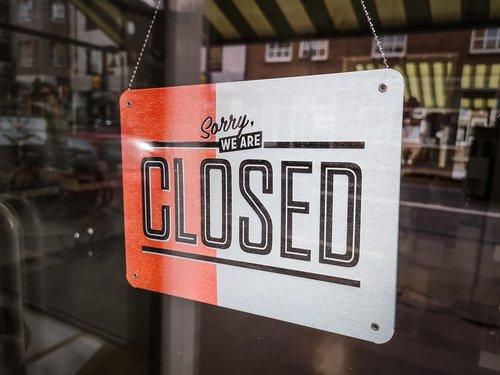 closed  shield  window