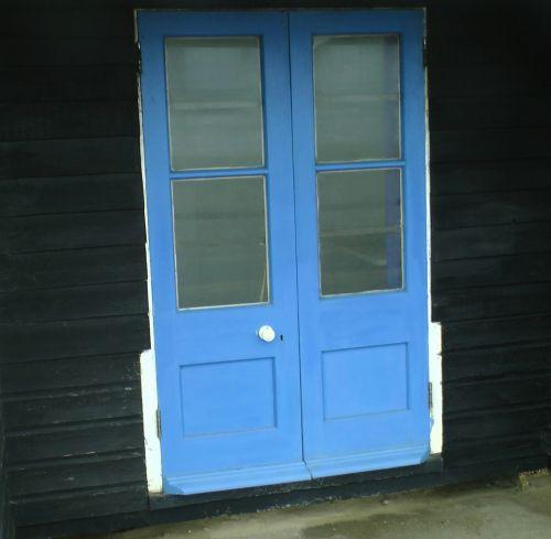 Closed Hut Doors