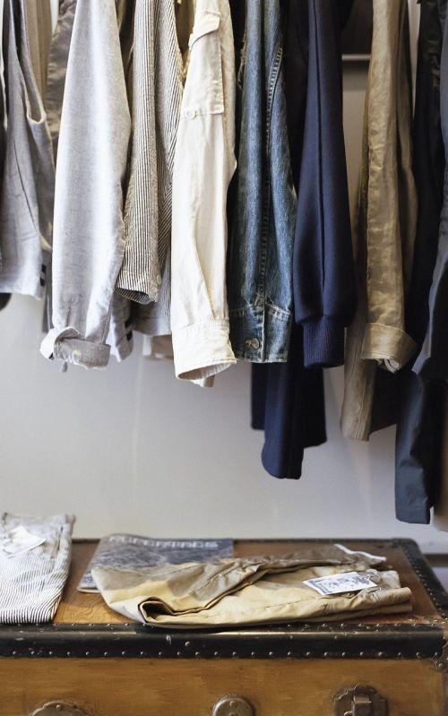 closet clothes wardrobe