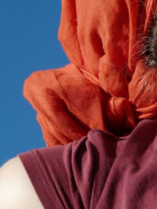 audinys,vilnos,medžiaga,spalvinga,gaudy,mazgas,oranžinė,raudona,apranga