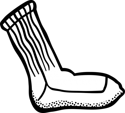 clothes sock stocking